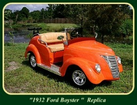 Custom Golf Carts - 1932 Ford Boyster Replic