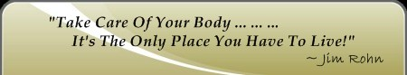 Famous Fitness Quote; Body care is within Exercise Terms
