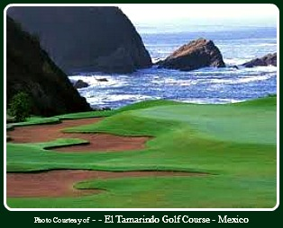 Photo: Golf Vacations in Mexico - El Tamarindo Golf Course