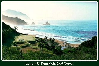 Photo: Golf Vacations in Mexico - El Tamarindo Golf Cours