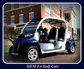 Custom Golf Carts - Multi-Passenger Golf Cart