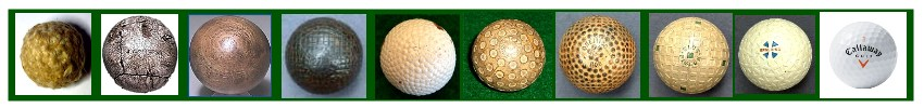 Evolution of the Golf Bal