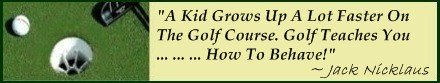 Good Golf Etiquette demands well behaved players