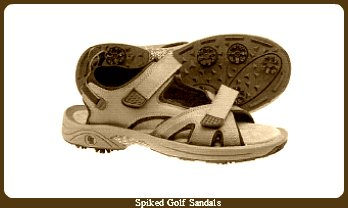 In The History of Golf;  Golf shoes were unheard of in the early stages of the game